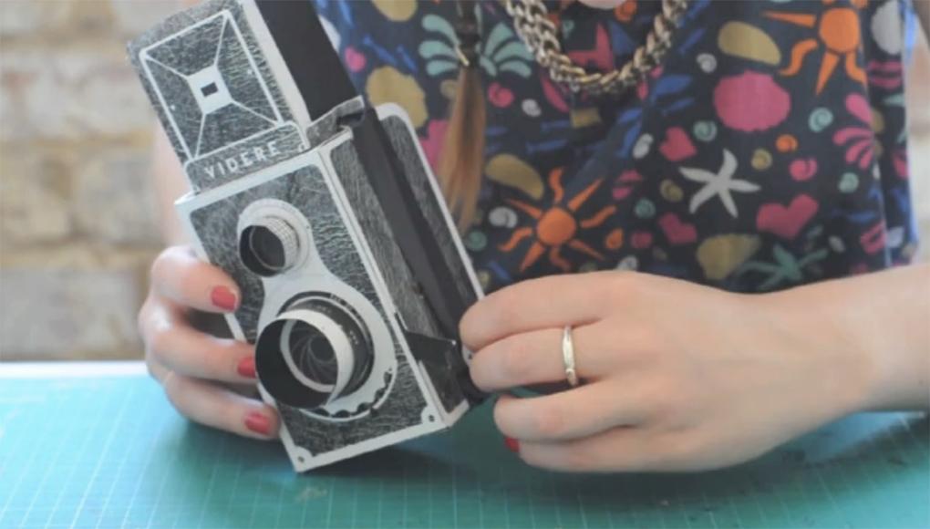 Popup Pinhole Camera