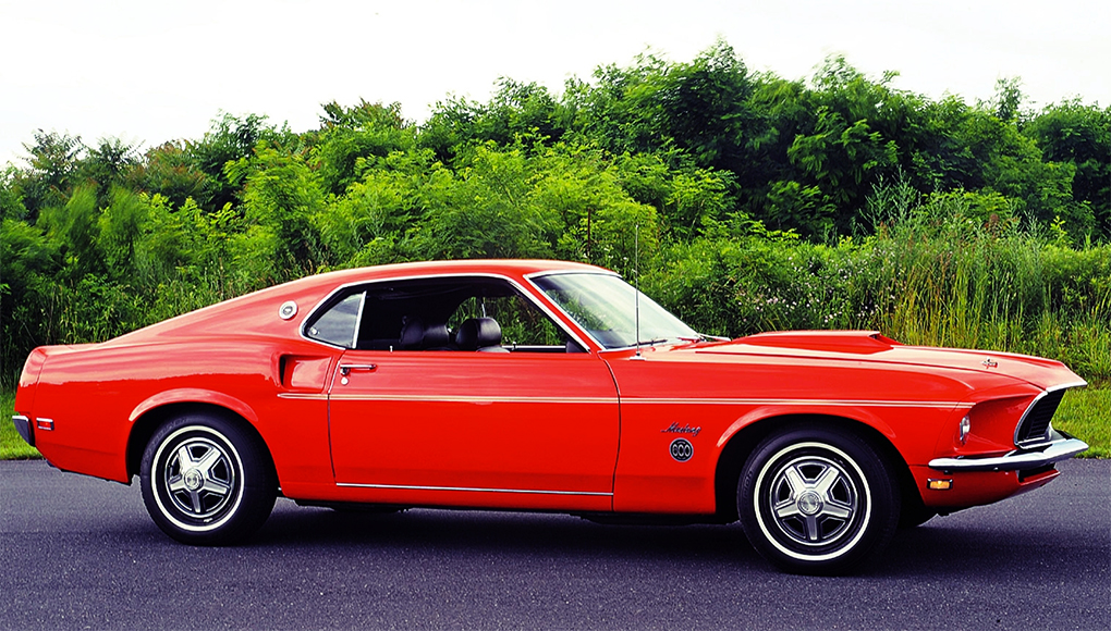1969 Mustang Limited Edition 600