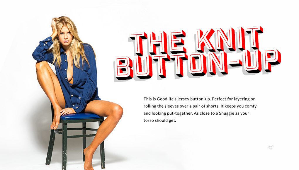 Spring Style Issue 2014 - The Knit Button-Up