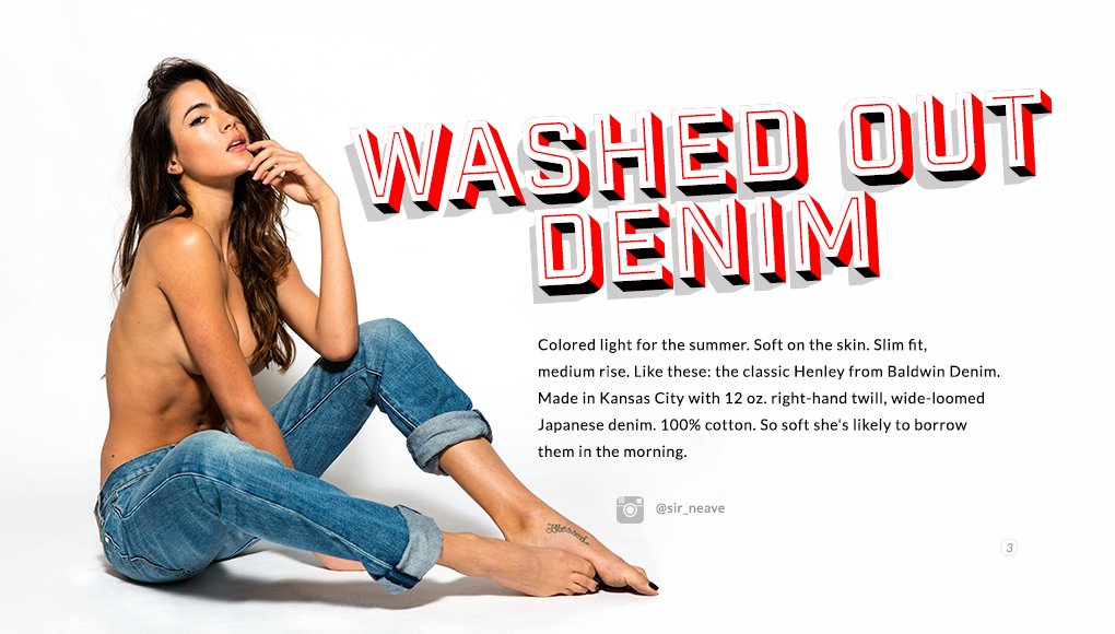 Spring Style Issue 2014 - Washed Out Denim